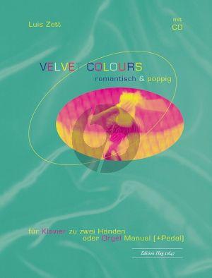 Zett Velvet Colours Klavier oder Orgel (Bk-Cd)