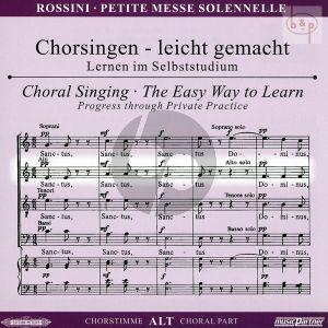 Petite Messe Solennelle CD Alt Chorstimme
