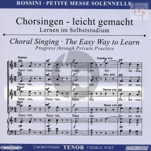 Petite Messe Solennelle CD Tenor Chorstimme