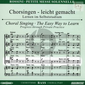Petite Messe Solennelle CD Bass Chorstimme