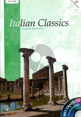 Album Italian Classics for Altosaxophone and Piano Book with Cd (Edited by Alexej Romanov)