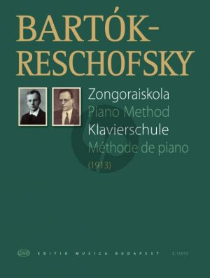 Bartok/Reschofsky Piano Method (Klavierschule)