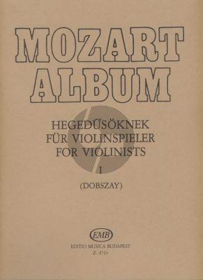 Mozart Album Vol.1 Songs Violin-Piano László Dobszay)