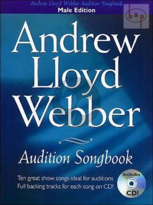 Audition Songbook (Male Edition with Piano)