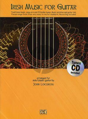 Irish Music for Guitar (Bk-Cd) (arr. John Loesberg)