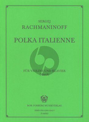 Rachmaninoff Polka Italienne Violine und Klavier (arr. March)
