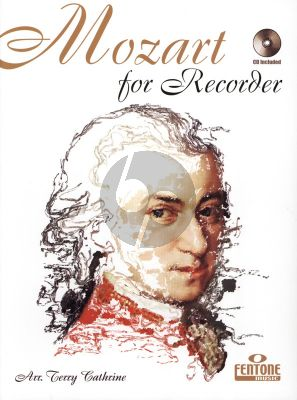 Mozart for Recorder (Bk-Cd) (arr. Terry Cathrine)
