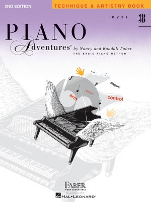 Faber Piano Adventures Technique & Artistry Book Level 3B (2nd Edition)