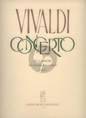 Vivaldi Concerto a-minor RV 445 (F.VI:9) (Ottavino) Flute-Piano (transcr. by Olivér Nagy)