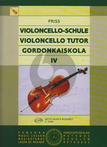 Friss Violoncello Tutor Vol.4