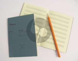 Notes Merkheft fur Noten und Notizen (Jotter for Music and Notes) (32 pages) (Din A6) (Henle)