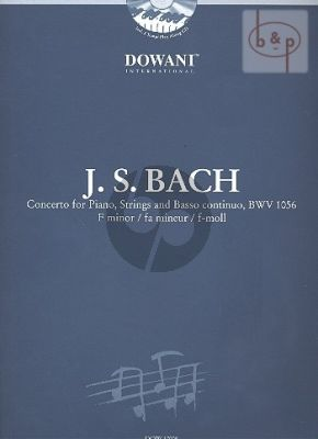Piano Concerto f-minor BWV 1056 (Ed. 2 Piano's) (2 Scores Inluded)