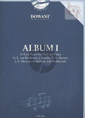 Album Vol.1 (10 Easy Pieces) (Viola-Piano)