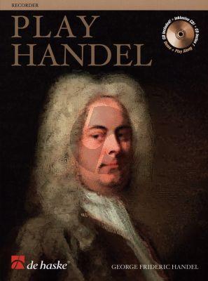 Play Handel for Descant Recorder) (Bk-Cd) (12 Famous Pieces) (grade 4 - 5)