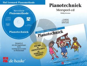 Hal Leonard Piano Methode Pianotechniek (Alleen de Meespeel-Cd)
