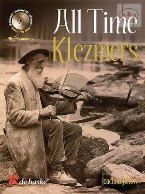 Johow All Time Klezmers Violin (Bk-Cd) (Position 1-3)