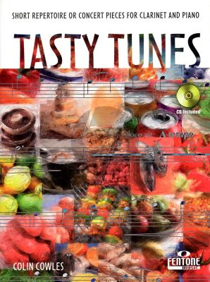 Cowles Tasty Tunes Clarinet and Piano (Bk-Cd)