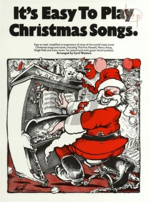 It's Easy to Play Christmas Songs (Easy to Read Simplified Arrangements