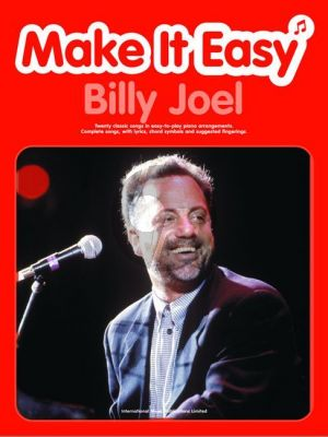 Joel Make It Easy (20 Classic Songs in easy-to-play arrangements) (with text)