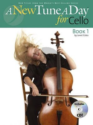 Coles A New Tune a Day for Cello Book 1 (Bk-Cd)
