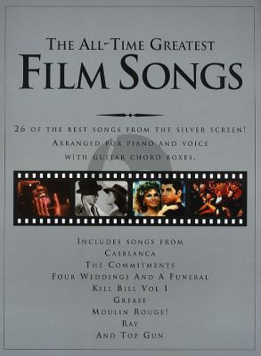 The All-Time Greatest Film Tunes