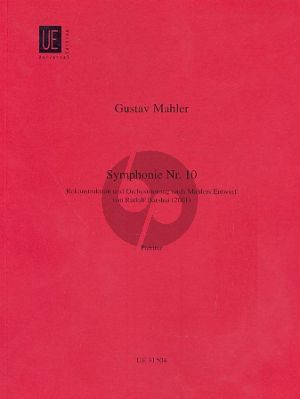 Mahler Symphony No.10 (Reconstr. and Orchestr. after sketches Barshai) Score