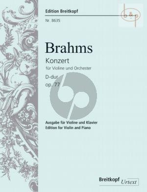 Concerto D-major Op.77