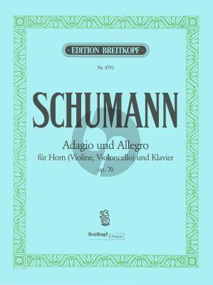 Schumann Adagio & Allegro As-dur Op.70 Horn (oder Violine/Violoncello) mit Klavier (Joachim Draheim)