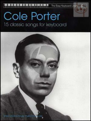 15 Classic Cole Porter Songs for Keyboard with Lyrics