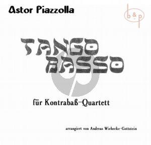 Tango Basso (4 Double Basses)