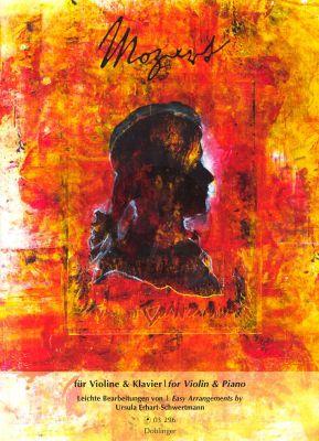 Mozart for Violin-Piano (1.Pos.) (Erhart-Schwertmann)