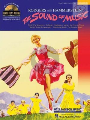 The Sound of Music (Piano-Vocal-Guitar) (Piano Playalong Vol.25) (Bk-Cd)
