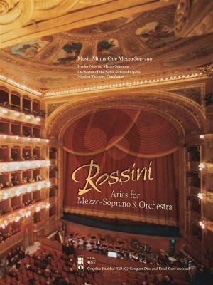 Rossini Opera Arias for Mezzo-Soprano and Orchestra (Bk-Cd) (MMO)