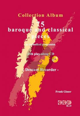 75 Baroque and Classical Pieces for Descant Recorder (Bk-Cd)