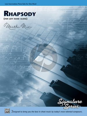 Mier Rhapsody for Piano left hand alone