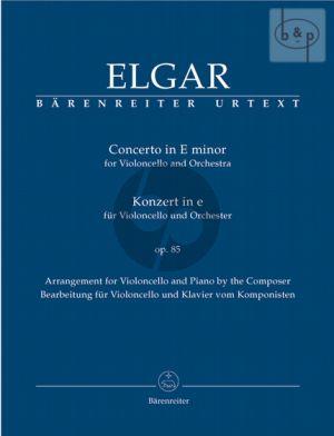 Concerto Op.85 e-minor for Cello and Piano