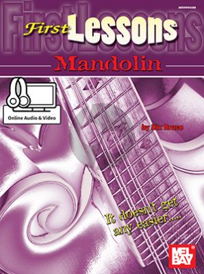 Bruce First Lessons Mandolin (Book with Audio online)