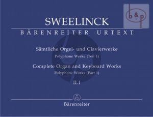 Samtliche Orgel- & Clavierwerke Vol.2 Teil 1 (Polyphone Werke Teil 1)