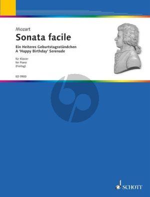 Mozart Sonata Facile (A Happy Birthday Serenade) (arr. Erna Freitag) (Grade 2 - 3)