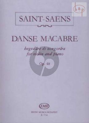 Danse Macabre Op.40 Violin-Piano