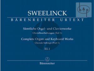 Samtliche Orgel- & Klavierwerke Vol.3 Teil 1 (Choralbearbeitungen 1)