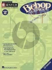 Bebop Classics (Jazz Play-Along Series Vol.48)