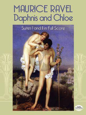 Ravel Daphnis & Chloe (Suites 1-2) Full Score (Dover)