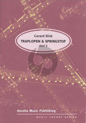 Blok Traplopen & Springstof Vol.3 (Solfege en Theorie)