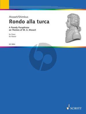 Mozart Rondo alla Turca (Parody Paraphrase on themes of Mozart by Vestard Shimkus) (Grade 3 - 4)