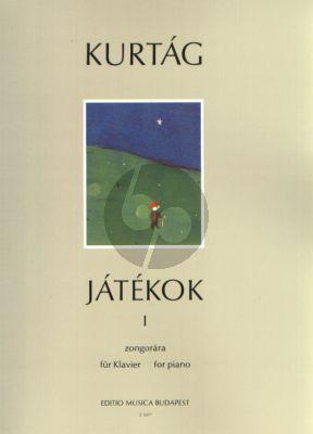 Kurtag Jatekok - Games Vol. 1 Piano