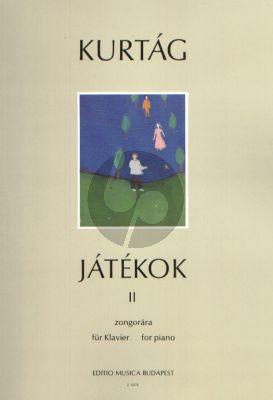 Kurtag Jatekok - Games Vol. 2 Piano
