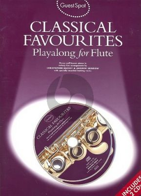 Album Guest Spot Classical Favourites Playalong (Flute) (Bk- 2 Cd's)