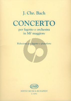 Bach Concerto E-flat major Bassoon-Piano (Tamás Zászkaliczky)