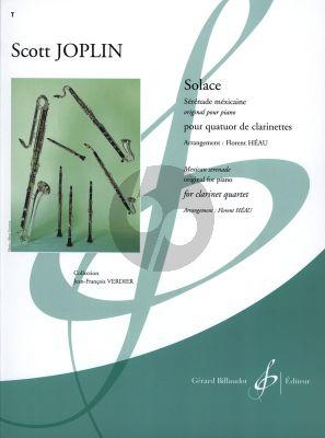 Joplin Solace 3 Clarinets [Bb]-Bass Clarinet (Score/Parts)